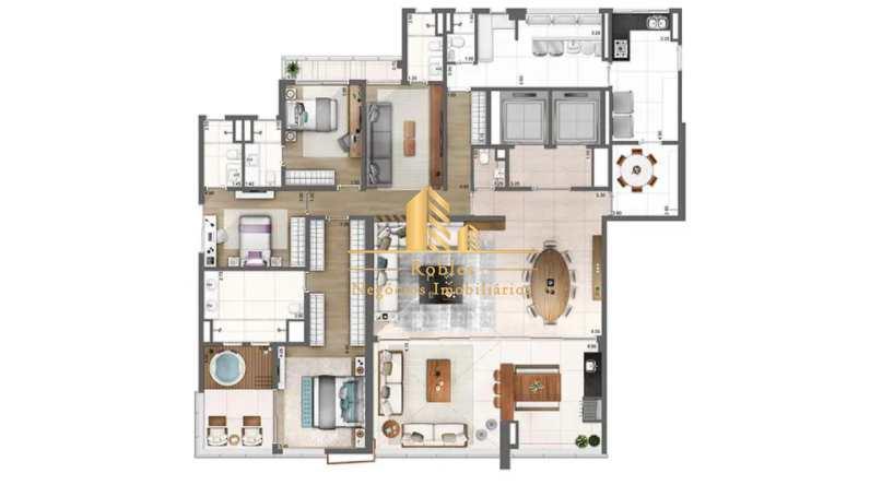 Apartamento com 4 dorms, Vila Olímpia, São Paulo - R$ 8.9 mi, Cod: 1648