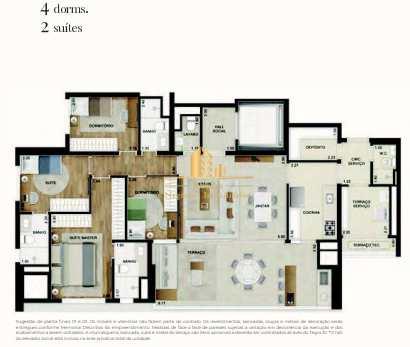 Apartamento com 4 dorms, Campo Belo, São Paulo - R$ 2.07 mi, Cod: 1666