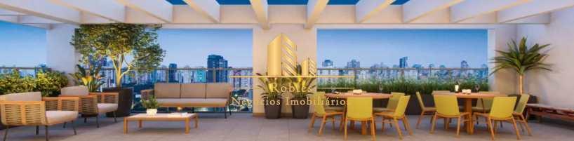 Studio com 1 dorm, Brooklin, São Paulo - R$ 320 mil, Cod: 1690