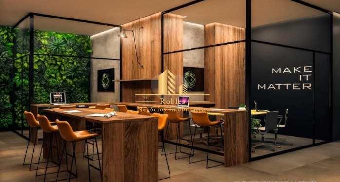 Apartamento com 1 dorm, Brooklin, São Paulo - R$ 330 mil, Cod: 1706