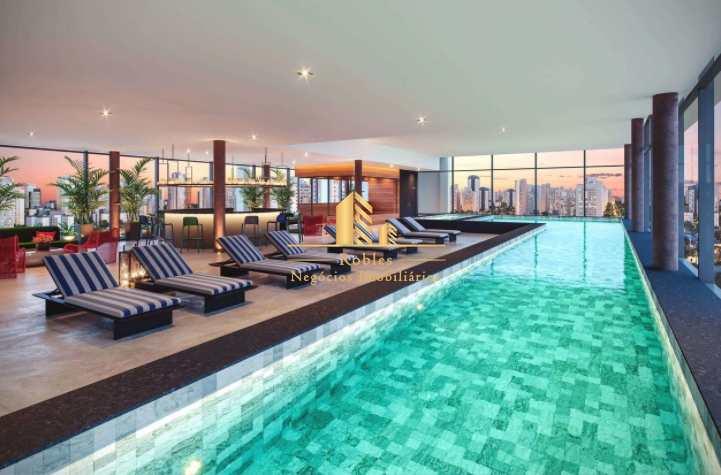 Apartamento com 1 dorm, Indianópolis, São Paulo - R$ 645 mil, Cod: 1707