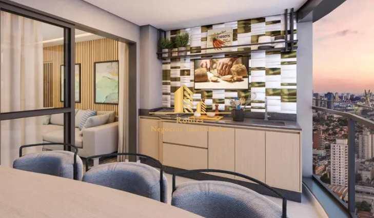 Apartamento com 2 dorms, Brooklin, São Paulo - R$ 965 mil, Cod: 1720