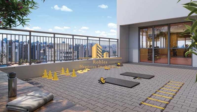 Apartamento com 2 dorms, Moema, São Paulo - R$ 926 mil, Cod: 1723