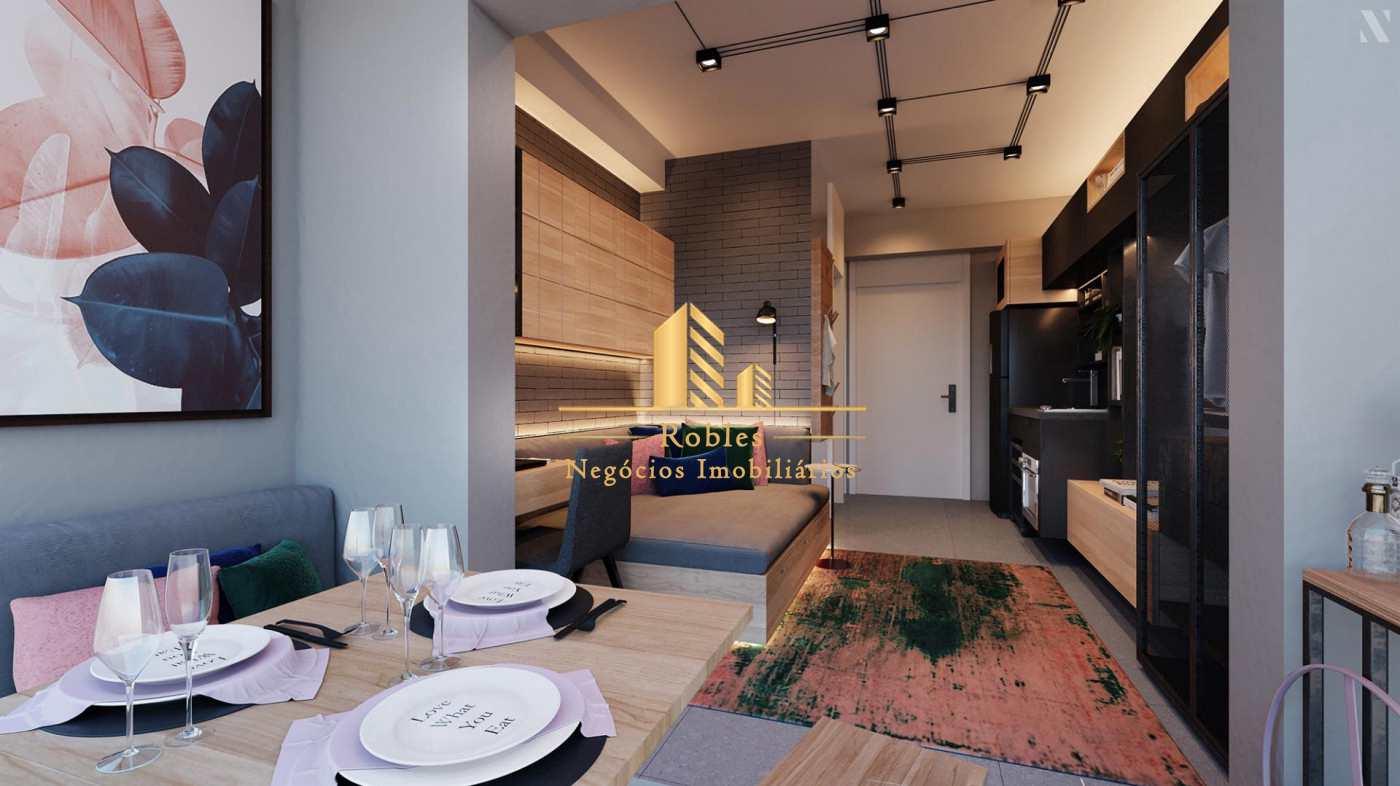 Studio com 1 dorm, Brooklin, São Paulo - R$ 320 mil, Cod: 1734