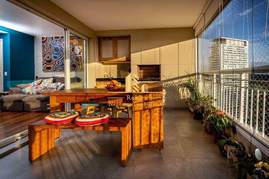 Apartamento com 3 dorms, Granja Julieta, São Paulo - R$ 1.24 mi, Cod: 1737