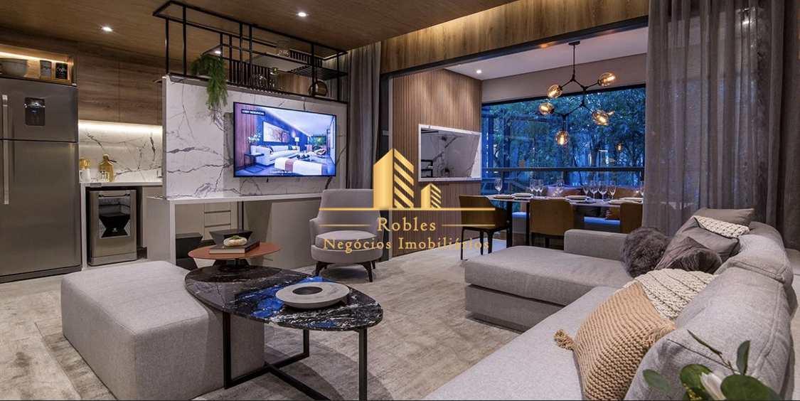 Apartamento com 1 dorm, Brooklin, São Paulo - R$ 495 mil, Cod: 1744