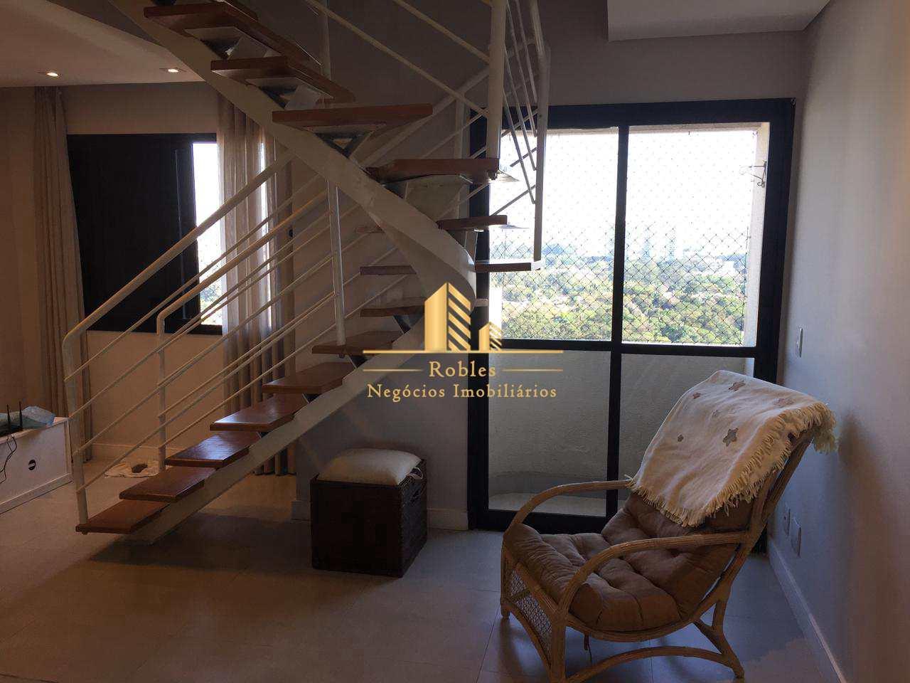 Cobertura com 2 dorms, Chácara Santo Antônio (Zona Sul), São Paulo - R$ 700 mil, Cod: 1779