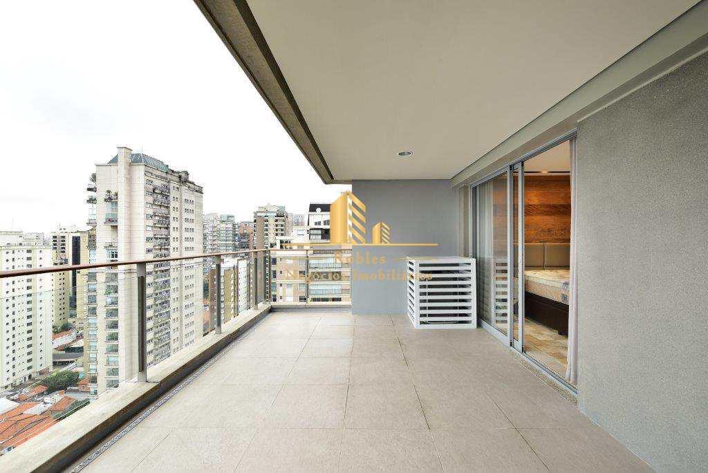 Apartamento com 1 dorm, Vila Nova Conceição, São Paulo, Cod: 2028
