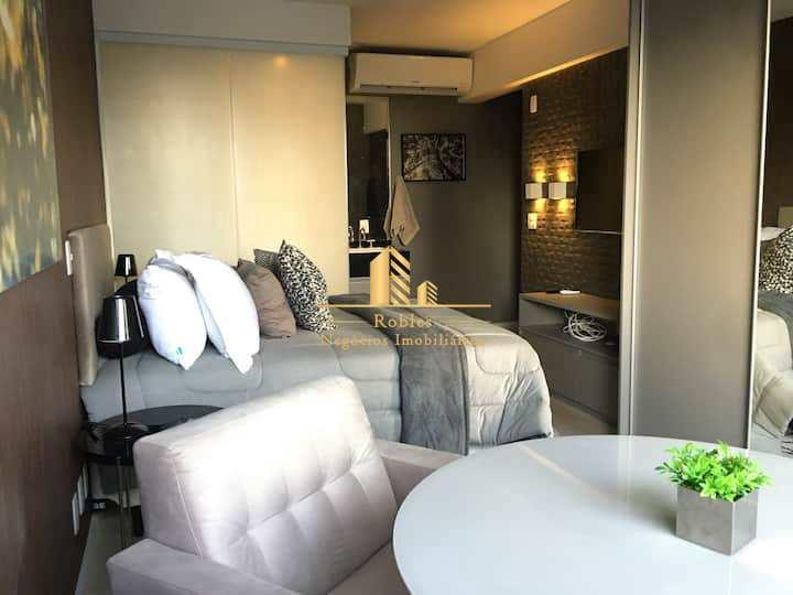 Studio com 1 dorm, Vila Olímpia, São Paulo - R$ 640 mil, Cod: 2060