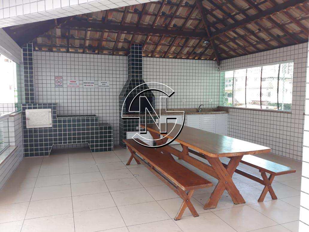 Área com churrasqueira