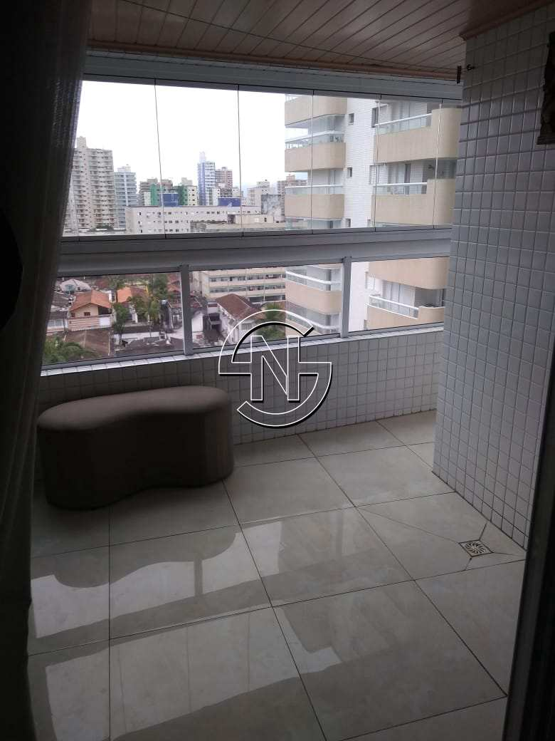 Apartamento com 2 dorms, Aviação, Praia Grande - R$ 370 mil, Cod: 1617