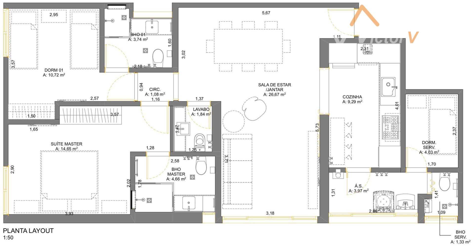 Apartamento com 2 dorms, Jardim Paulista, São Paulo - R$ 1.24 mi, Cod: 231
