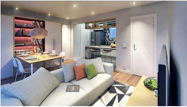 Apartamento com 2 dorms, Fundação, São Caetano do Sul - R$ 345 mil, Cod: 44