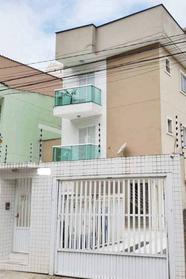 Apartamento com 3 dorms, Vila Guiomar, Santo André - R$ 350 mil, Cod: 406