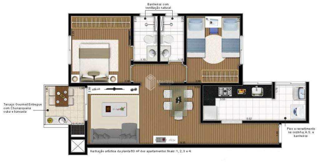 Apartamento com 2 dorms, Campestre, Santo André - R$ 430 mil, Cod: 920