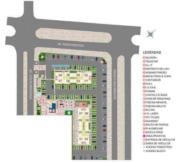Apartamento com 2 dorms, Jardim Novo Mundo, Goiânia, Cod: 6