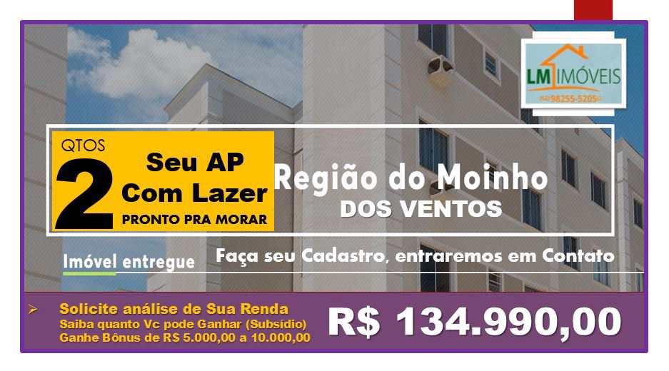 Apt2 Qtos, Pronto pra Morar_ Setor Santa Rita