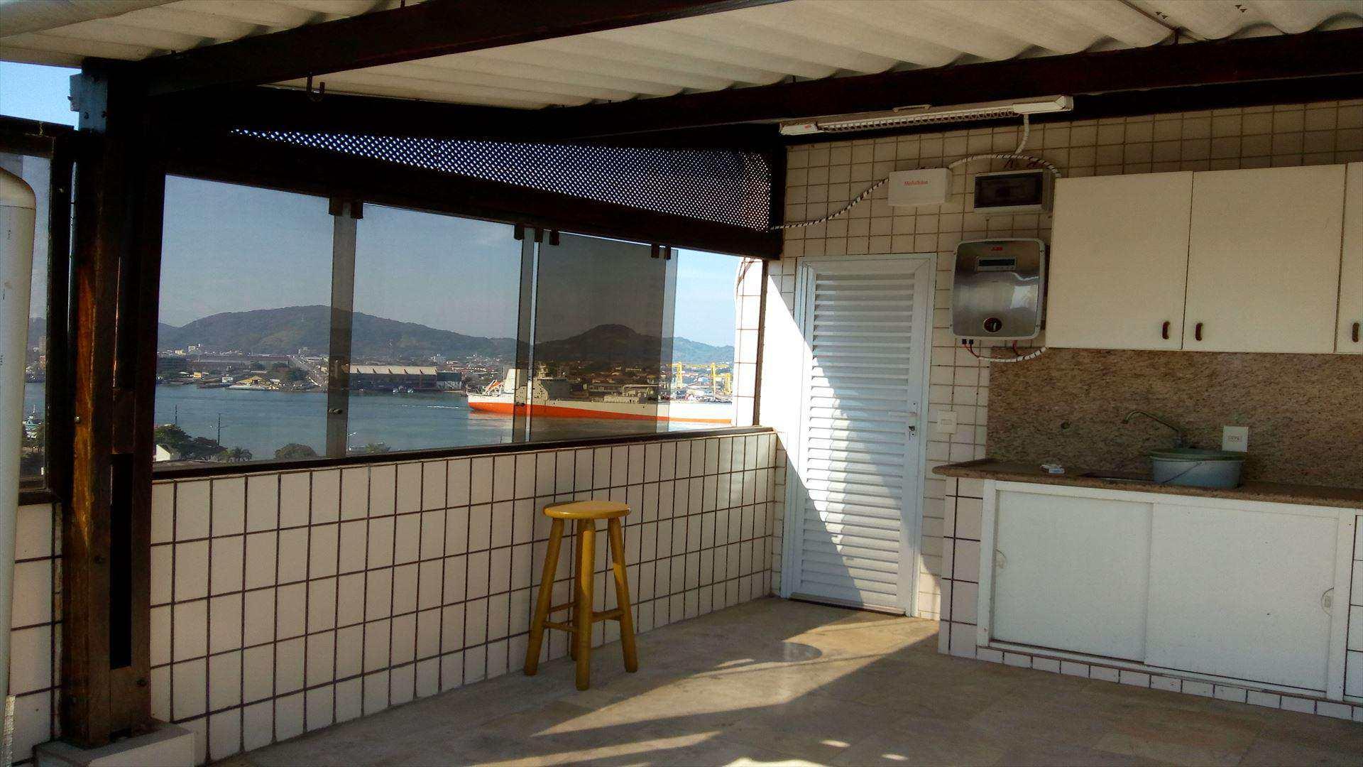 Cobertura em Santos bairro Ponta da Praia