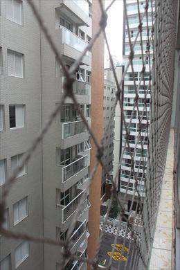 Apartamento com 3 dorms, Gonzaga, Santos - R$ 640 mil, Cod: 9348