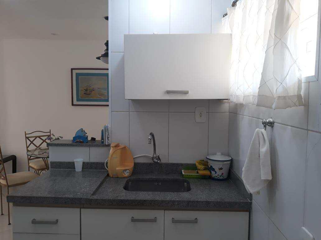 Apartamento com 1 dorm, Aparecida, Santos - R$ 370 mil, Cod: 10432