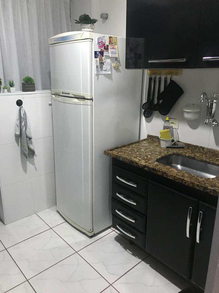 Apartamento com 1 dorm, Aparecida, Santos - R$ 200 mil, Cod: 10446