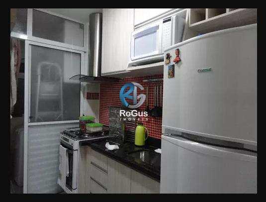 Apartamento com 2 dorms, Morro Nova Cintra, Santos - R$ 318 mil, Cod: 44