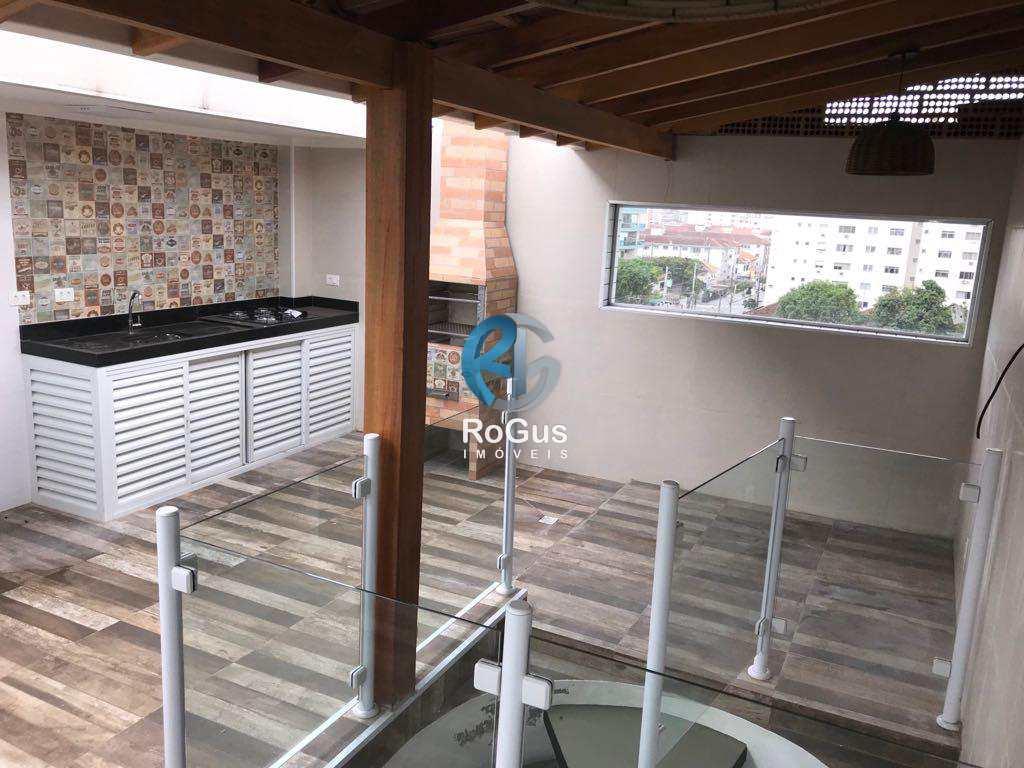 Cobertura com 2 dorms, Embaré, Santos - R$ 525 mil, Cod: 95
