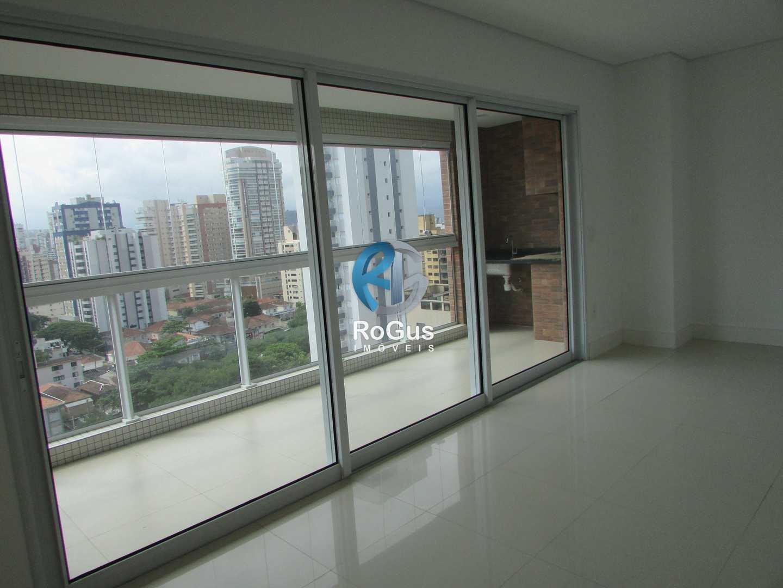 Alto padrão com 03 Suítes, Embaré / Santos, Cod: 599