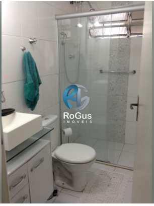 Apartamento com 3 dorms, Gonzaga, Santos - R$ 555 mil, Cod: 667