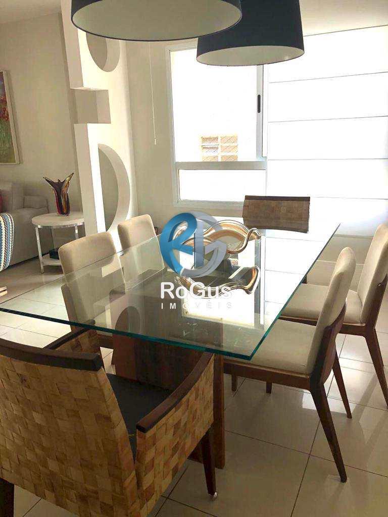 Apartamento com 3 dorms, Gonzaga, Santos - R$ 1.55 mi, Cod: 684