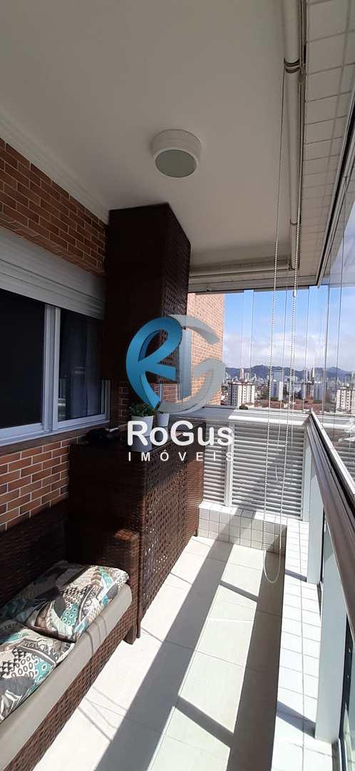 Apartamento com 2 dorms, Macuco, Santos - R$ 550 mil, Cod: 689