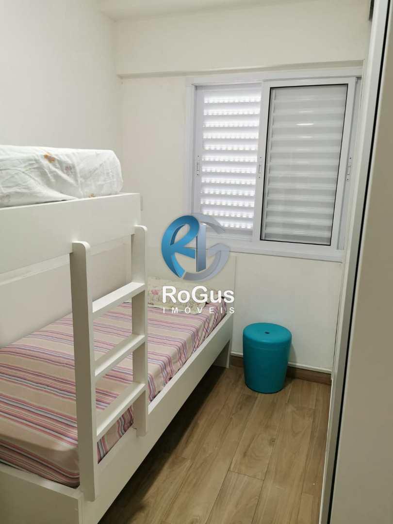 Apartamento com 2 dorms, Vila Mathias, Santos - R$ 380 mil, Cod: 758