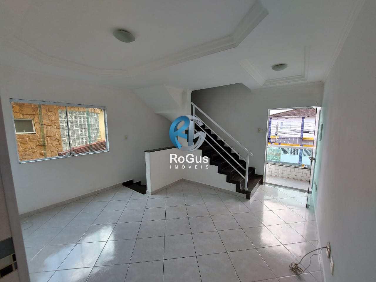 Casa com 3 dorms, Santa Maria, Santos - R$ 420 mil, Cod: 773