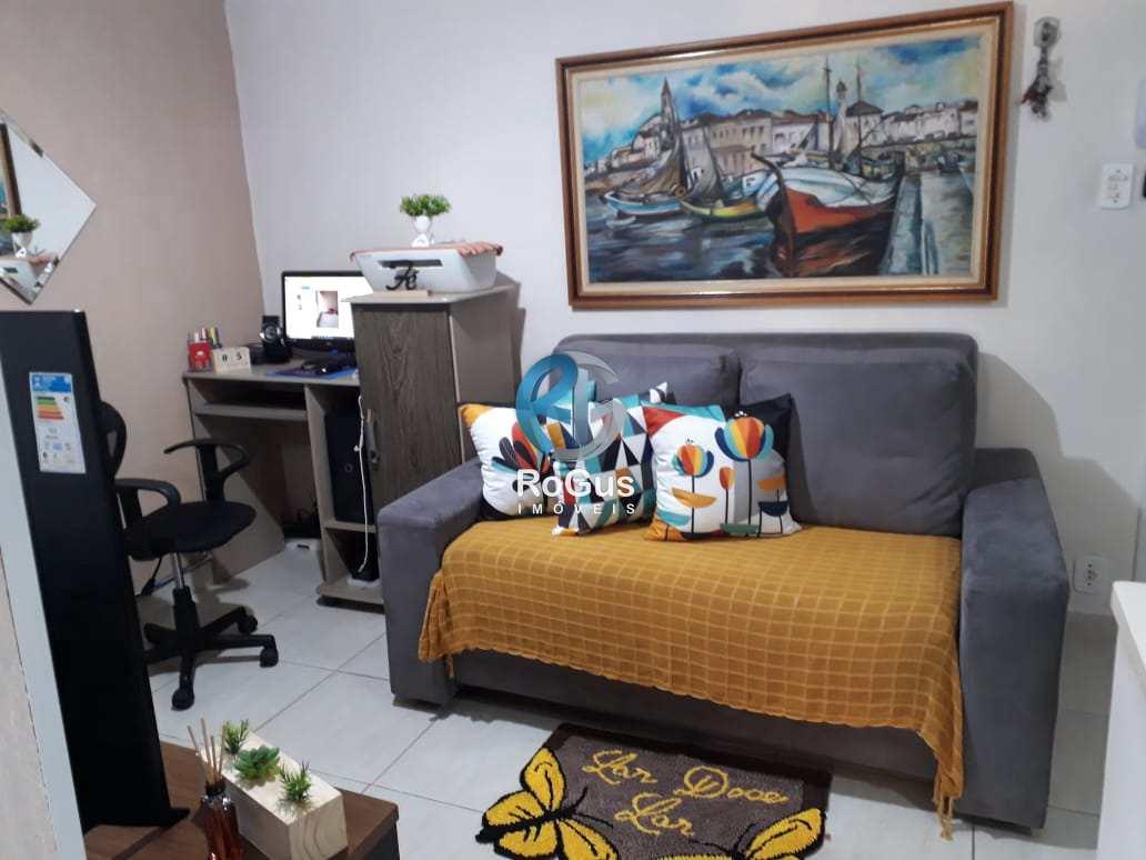 Apartamento com 1 dorm, Gonzaga a 1 quadra R$ 240 mil, Cod: 787