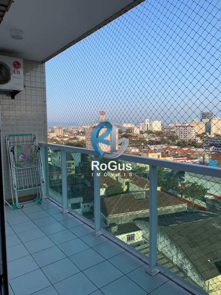 Apartamento com 1 dorm, Vila Mathias, Santos - R$ 290 mil, Cod: 800
