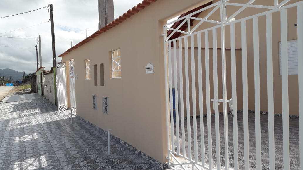 Casa com 2 dorms, Jardim Leonor, Mongaguá - R$ 165 mil, Cod: 52