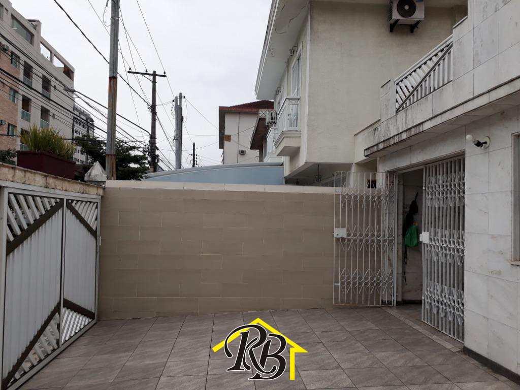 Sobrado com 4 dorms, Campo Grande, Santos - R$ 850 mil, Cod: 60460573