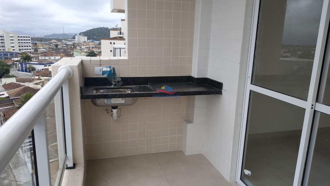 Apartamento com 2 dorms, Guilhermina, Praia Grande
