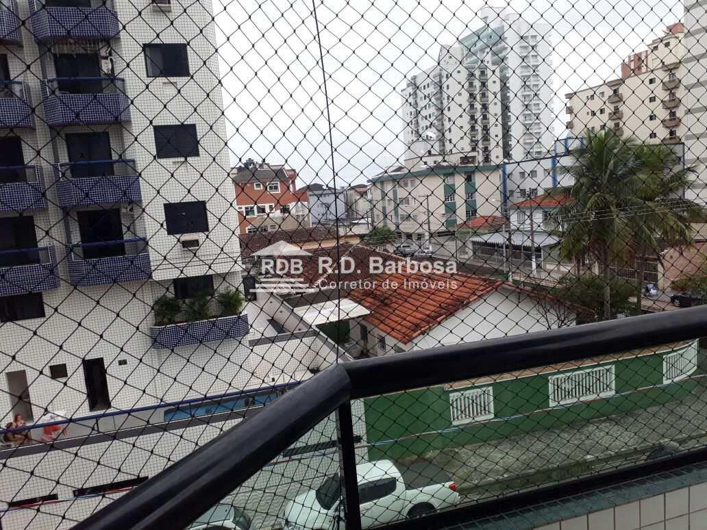 Apartamento com 2 dorms, Guilhermina, Praia Grande - R$ 350 mil, Cod: 58