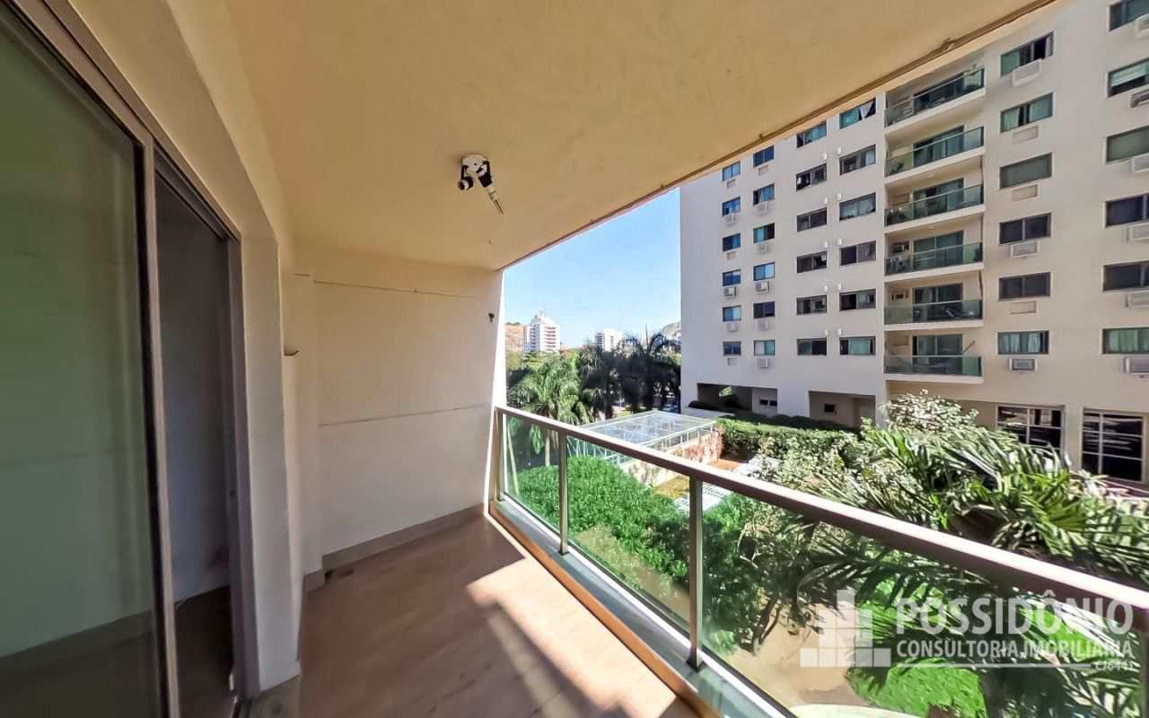 Apartamento com 2 dorms, Recreio dos Bandeirantes, Rio de Janeiro - R$ 470 mil, Cod: 338