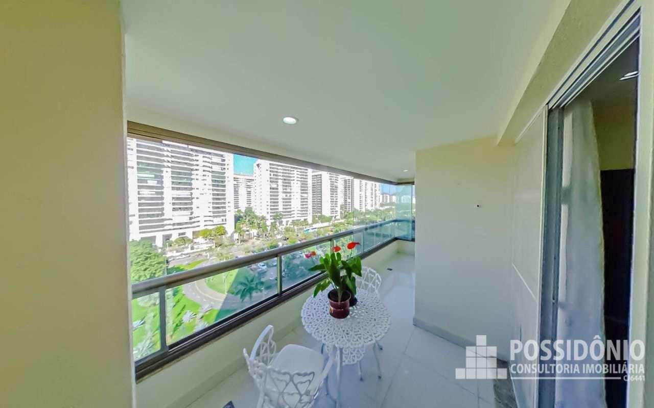 Apartamento com 4 dorms, Barra da Tijuca, Rio de Janeiro - R$ 890 mil, Cod: 372