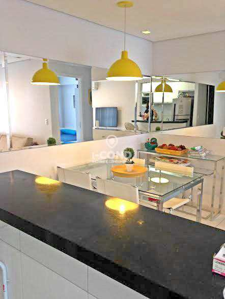 Apartamento residencial para venda e locação, Encruzilhada, Santos.