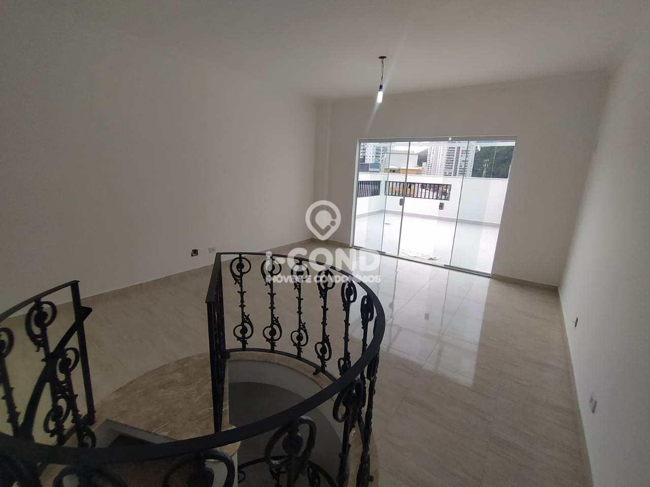 Cobertura com 2 dorms, Gonzaga, Santos - R$ 680 mil, Cod: 63003293