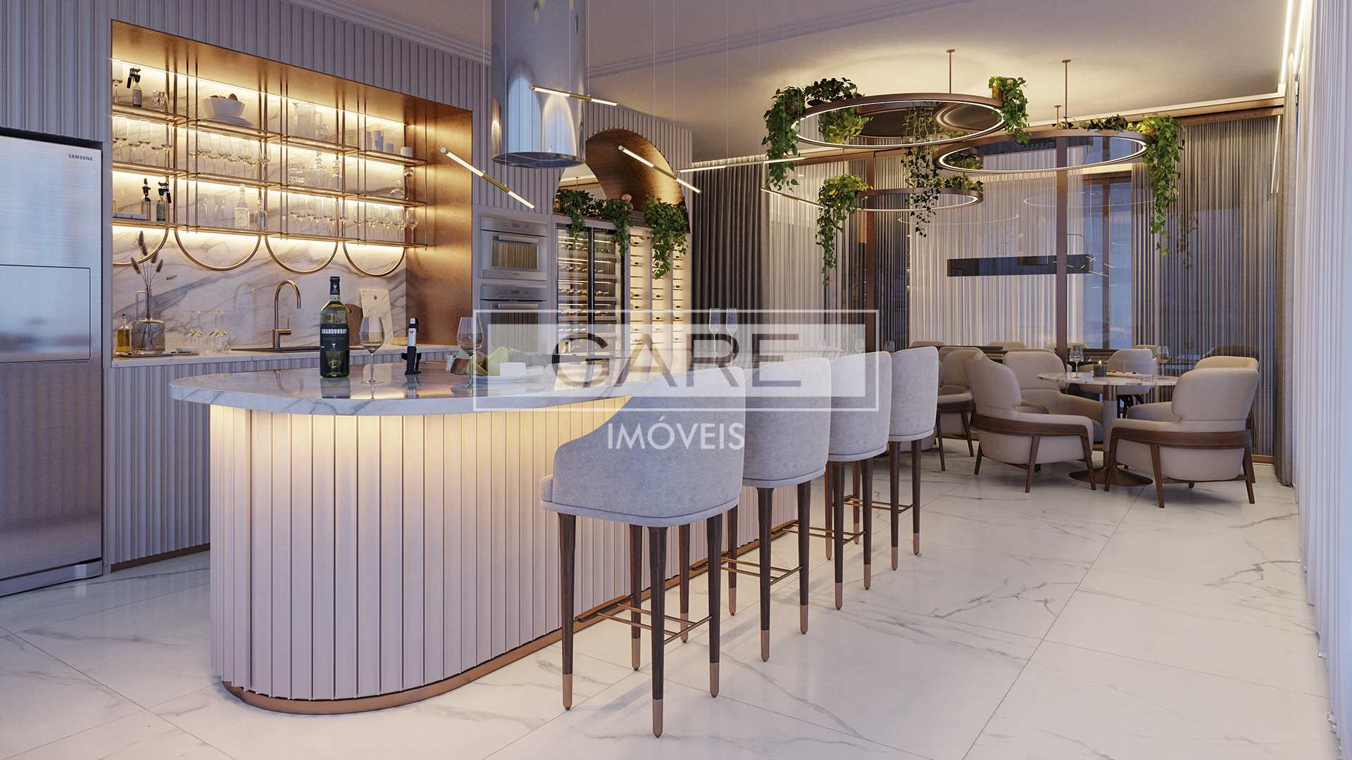 Chardonnay 257 Apartamento com 3 suítes
