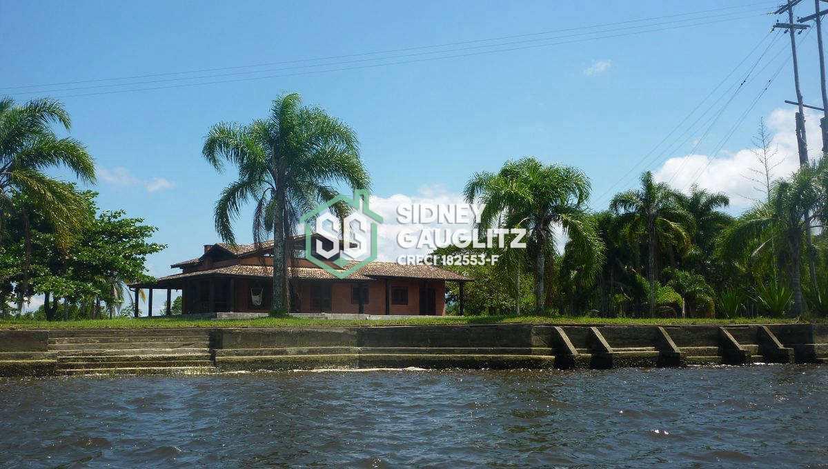 Casa numa Ilha particular 3 dorms, Cananéia - R$ 000 mi, Cod: 3