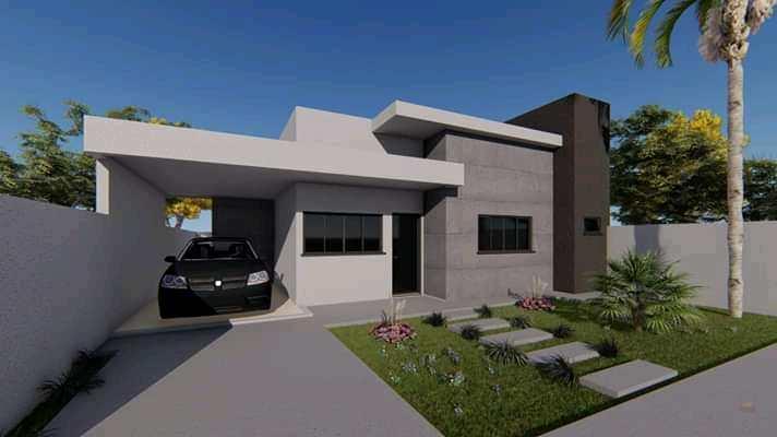 Casa com 2 dorms, Poncho Verde III - 4ª Ampliação, Primavera do Leste - R$ 220 mil, Cod: 76