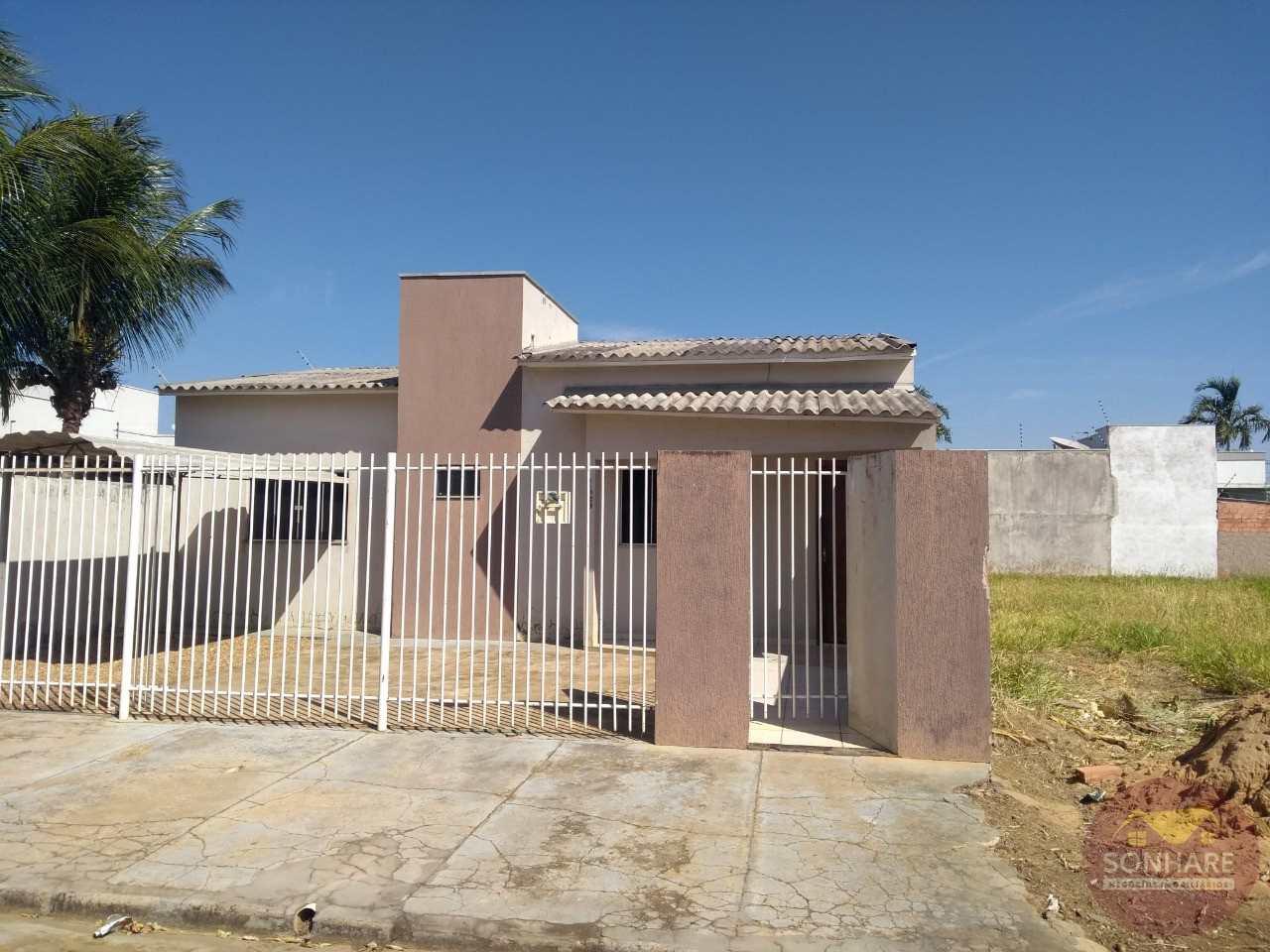 Casa com 2 dorms, Poncho Verde, Primavera do Leste - R$ 280 mil, Cod: 88