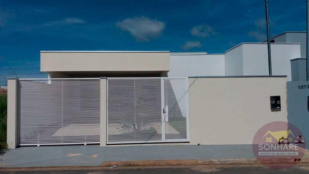 Casa com 2 dorms, Buritis II, Primavera do Leste - R$ 290 mil, Cod: 105