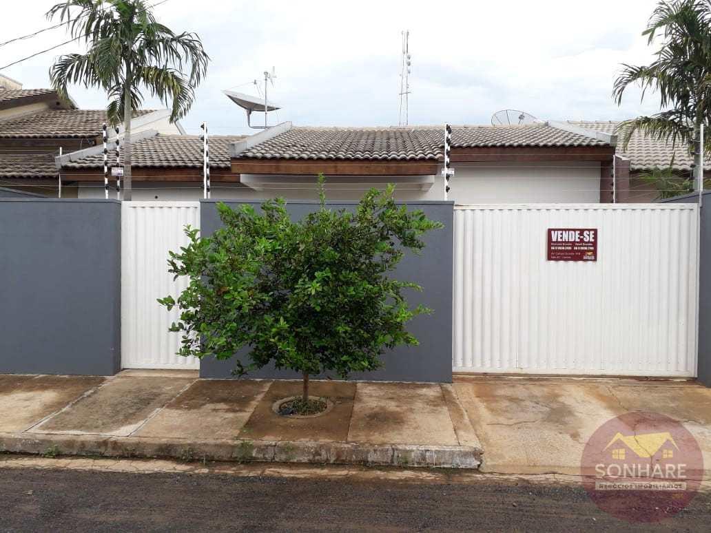 Casa com 3 dorms, Buritis II, Primavera do Leste - R$ 280 mil, Cod: 123