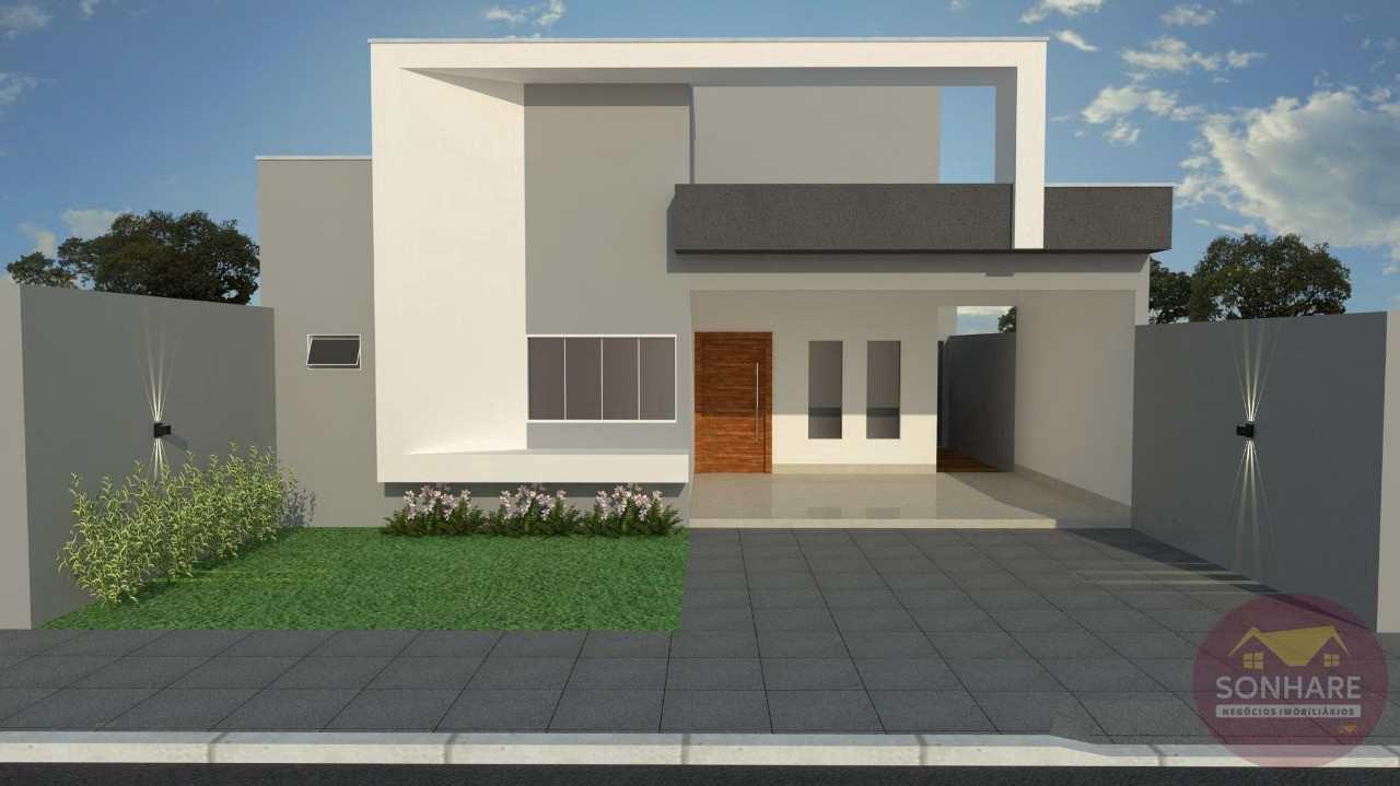 Casa com 2 dorms, RES BURITIS II - EXPANSÃO, Primavera do Leste - R$ 360 mil, Cod: 150